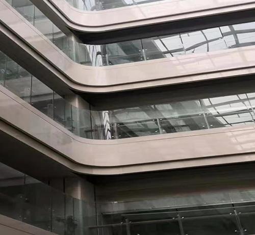 大厦护栏玻璃
