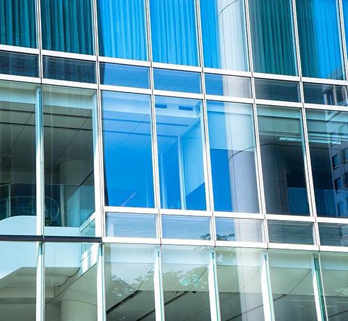 大厦外墙玻璃