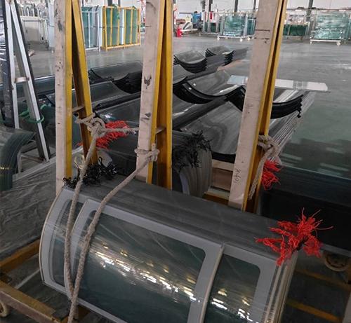 冷柜玻璃厂家合作案例