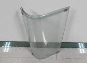 双弧异形弯钢玻璃